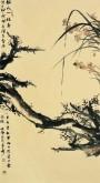 【询价】肖映梅(中国美协)国画花鸟画 8平尺 《临水一枝春》