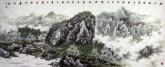 王来胜(娄东画派第八代传人) 国画山水画 精品小六尺1