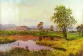 (已售)朝鲜油画 宇成(一级画家)79*115cm 布面油画 风景4