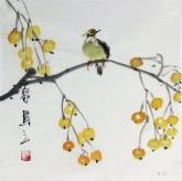 石泉 国画花鸟画小品 小尺寸斗方4-31