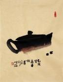 【已售】肖映梅(中国美协)国画花鸟画 小品 小尺寸 茶壶