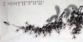 (已售)薛大庸(一级美术师)国画动物松鼠画 三尺横幅《茫茫林海一精灵》3-4