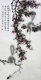 薛大庸(一级美术师)国画动物松鼠画 三尺竖幅《玲珑乖巧眼闪光》9-2