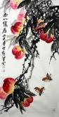 石云轩 三尺竖幅《南山仙寿》3-10寿桃